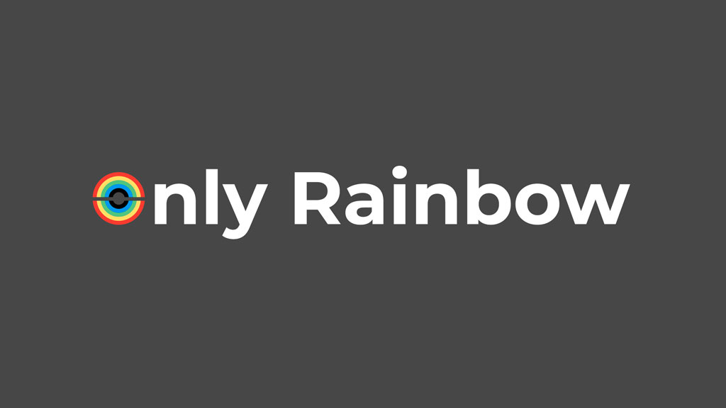 Logo Only Rainbow