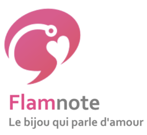 logo Flamnote connected jewelery le bijou qui parle d'amour